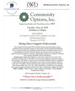 Community Options Inc. Hiring Event