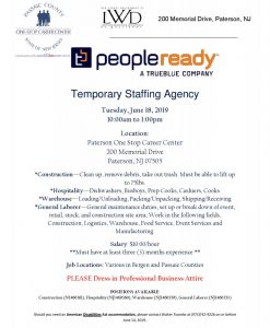 People Ready Hiring Event